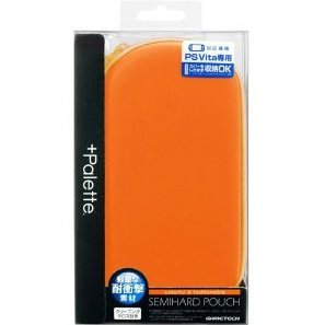 +Palette Semi Hard Pouch for PS Vita (Sunset Orange)