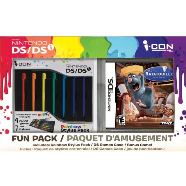 Disney/Pixar Ratatouille with Rainbow Stylus Bundle