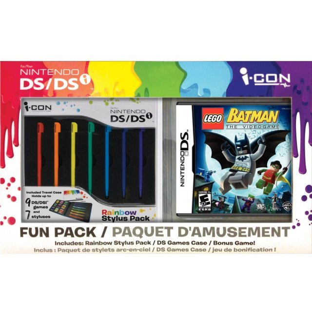 LEGO Batman: The Videogame with Rainbow Stylus Bundle