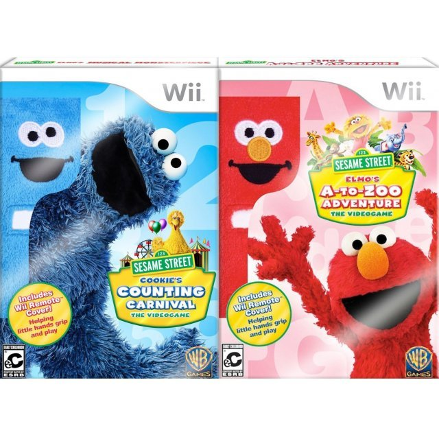 Sesame Street Play and Learn (Cookie and Elmo Bundle)