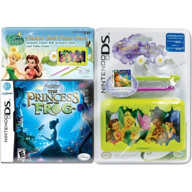 Princess and the Frog with Case Bundle