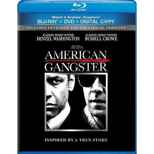 American Gangster [Blu-ray+DVD+Digital Copy]