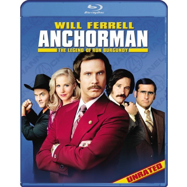 Anchorman: The Legend Of Ron Burgundy Unrated