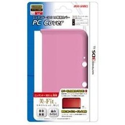 PC Cover for 3DS LL (Clear Pink)