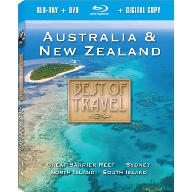 Best of Travel: Australia & New Zealand  [Blu-ray+DVD+Digital Copy]