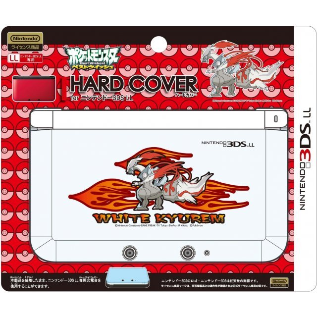 Hard Cover for 3DS LL (White Kyurem Over Drive)