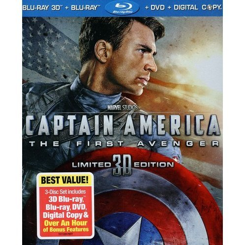Captain America: The First Avenger 3D/2D