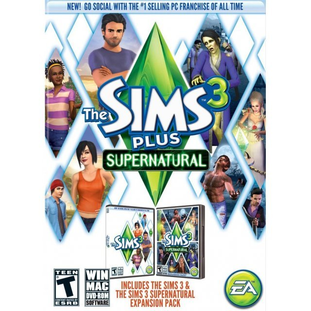 The Sims 3 Plus Supernatural (DVD-ROM)