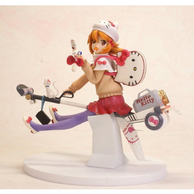 Hello Kitty to Issho! 1/8 Scale Pre-Painted PVC Figure: Tachibana Mikan