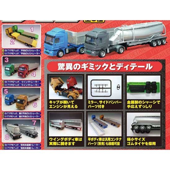 Detail Real Trailer Truck Collection