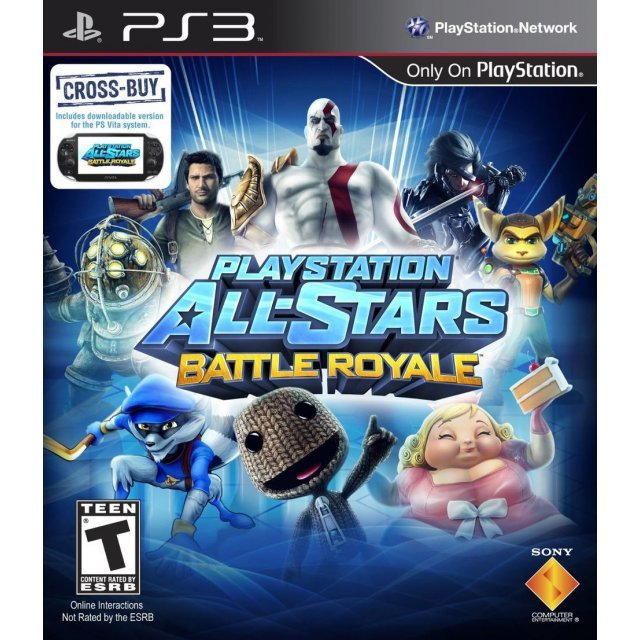 PlayStation All-Stars Battle Royale (Chinese + English Version)
