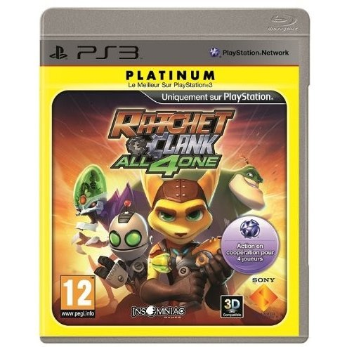 Ratchet & Clank: All 4 One (Platinum)