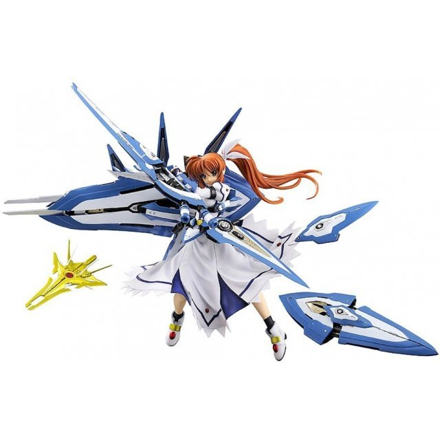 Magical Record Lyrical Nanoha Force 1/8 Scale Pre-Painted PVC Figure: Nanoha High CW-AEC00X Fortress & CW-AEC02X Strike Cannon