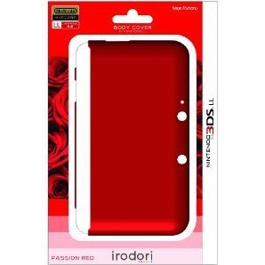 Body Cover for 3DS LL (Passion Red)