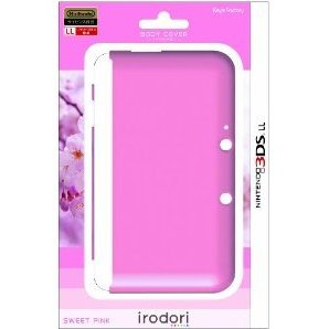 Body Cover for 3DS LL (Sweet Pink)
