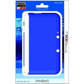 Body Cover for 3DS LL (Ocean Blue)