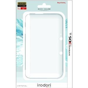 Body Cover for 3DS LL (Crystal)