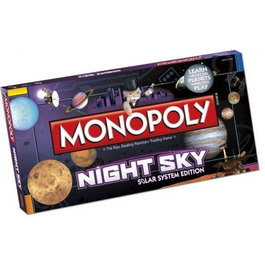 Monopoly Night Sky Solar System Edition