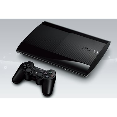 PlayStation3 New Slim Console (250GB Charcoal Black Model) - 110V