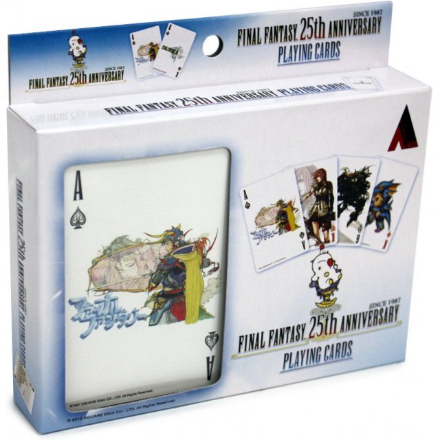 Final Fantasy 25th Anniversary Playing Card