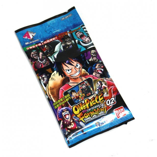 One Piece AR CARDDASS Formation 02 Mobile Trading Card Game