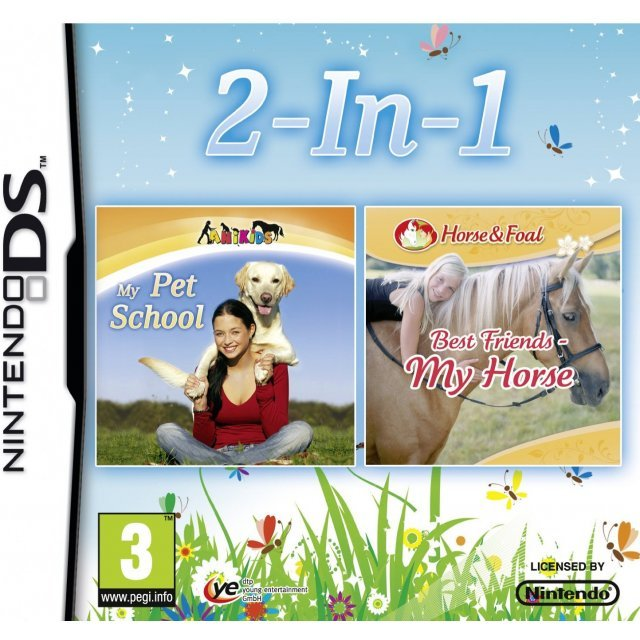 My Pet School and My Horse: Double Pack