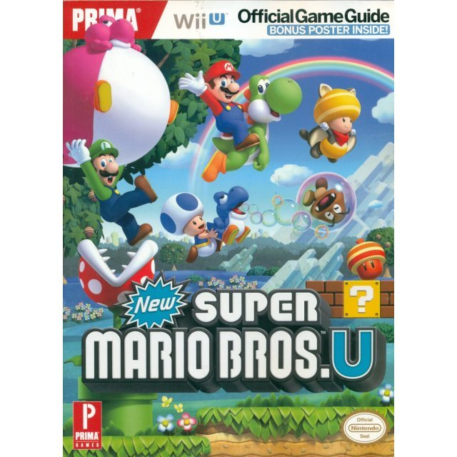 New Super Mario Bros. U Prima Official Game Guide