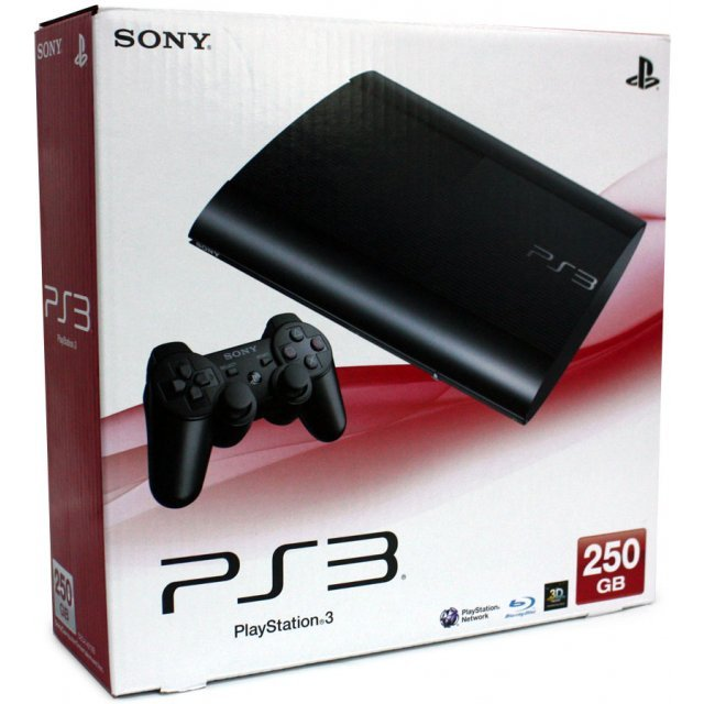 PlayStation3 New Slim Console (250GB Charcoal Black Model) - 220V