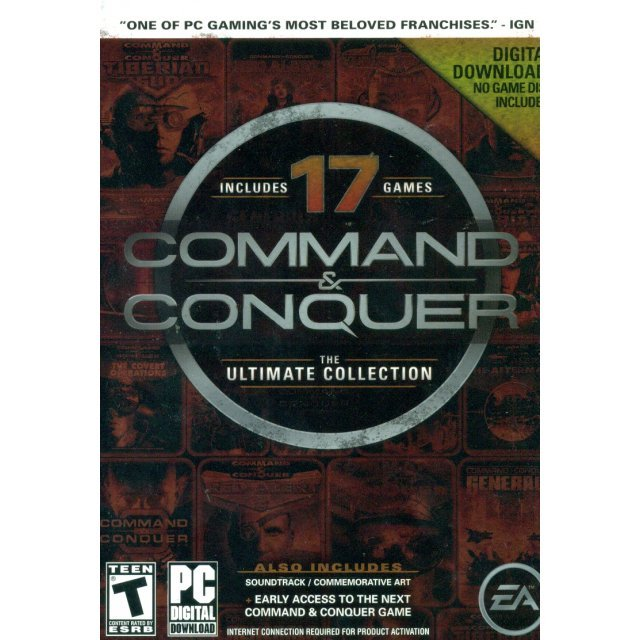 Command & Conquer: The Ultimate Collection (Code in a Box)