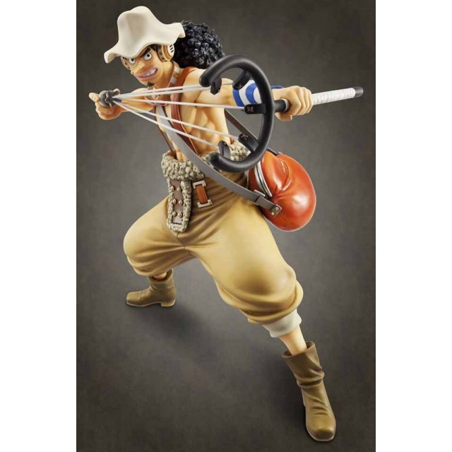 Excellent Model One Piece Sailing Again 1/8 Scale Pre-Painted PVC Figure: Usopp