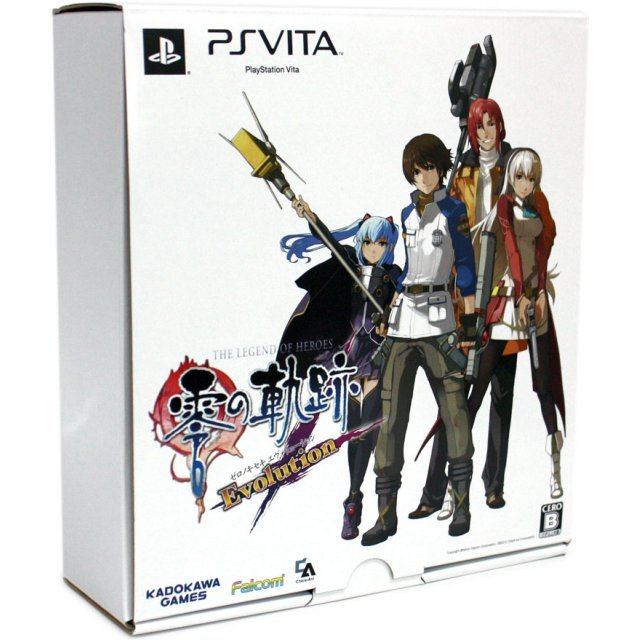 The Legend of Heroes: Zero no Kiseki Evolution [Chara-Ani Limited Box]