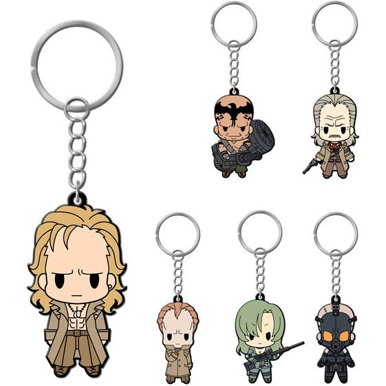 D4 Metal Gear Solid Rubber Key Holder Collection Vol. 2