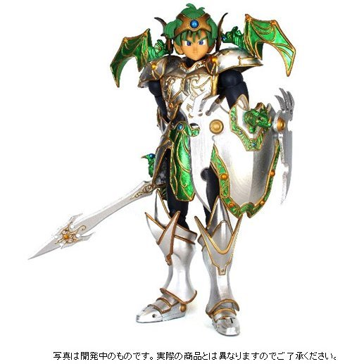 Dragon Quest Non Scale Pre-Painted PVC Figure: Legend Armor Returns Equipment of Sky