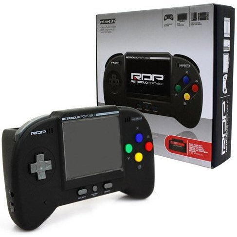 RetroDuo Portable System (Black)