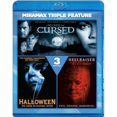 Cursed / Halloween: The Curse of Michael Myers / Hellraiser: Hellseeker