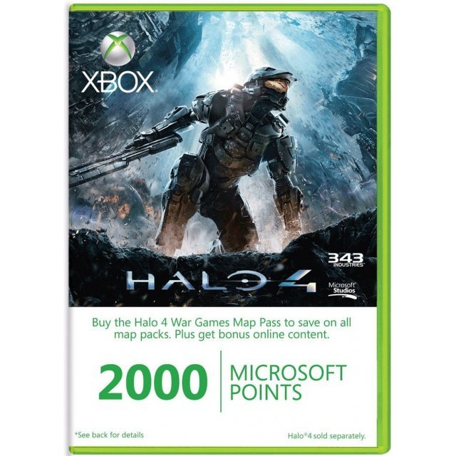 Xbox Live 2,000 Points Season Pass (Halo 4 Edition)