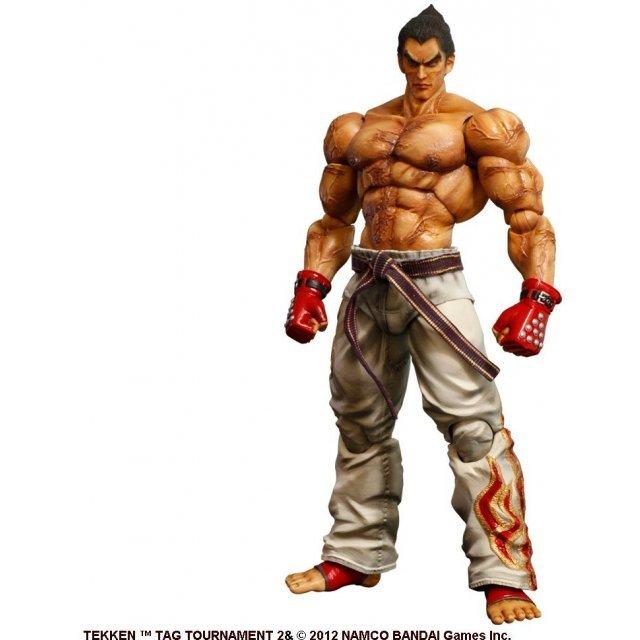 Tekken Tag Tournament 2 Play Arts Kai Non Scale Pre-Painted Figure: Kazuya Mishima