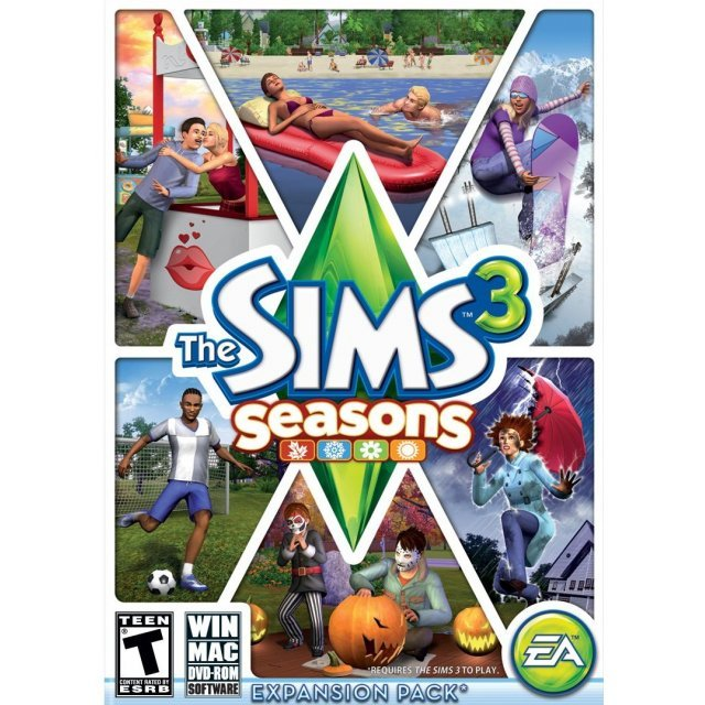 The Sims 3 Seasons (English Version) (DVD-ROM)