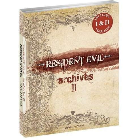 Resident Evil Archives I & II 2-Book Bundle