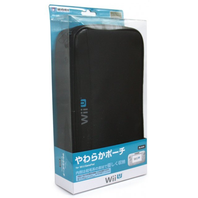 Yawaraka Pouch for Wii U GamePad (Black)
