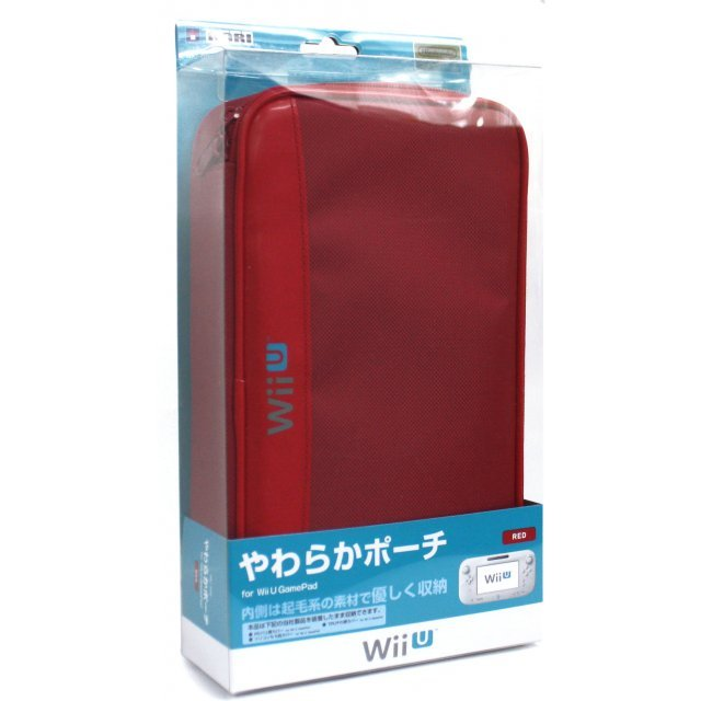 Yawaraka Pouch for Wii U GamePad (Red)