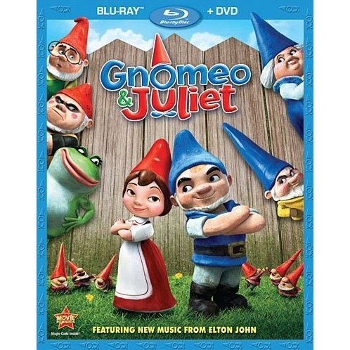 Gnomeo & Juliet [Blu-ray+DVD]