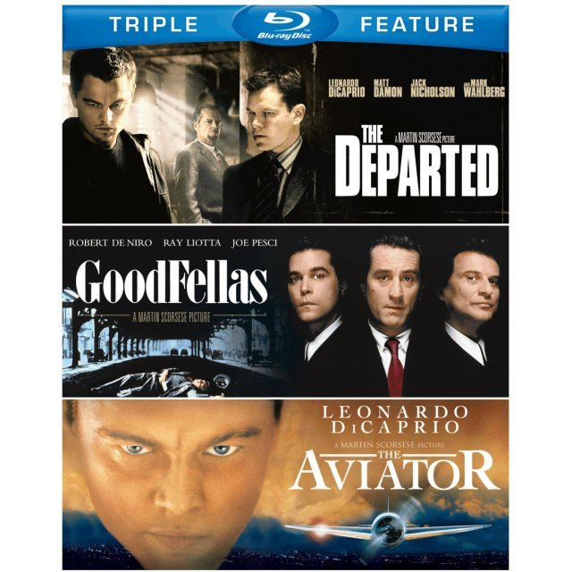 Martin Scorsese Triple Feature (Goodfellas / The Aviator / The Departed)