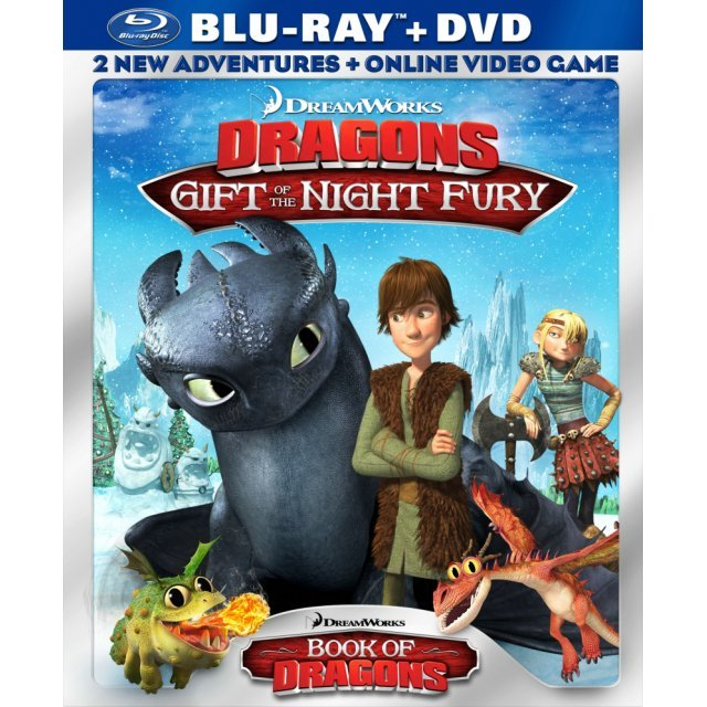 Dreamworks Dragons [Blu-ray+DVD]