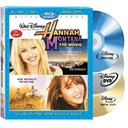 Hannah Montana: The Movie [Blu-ray+DVD+Digital Copy]