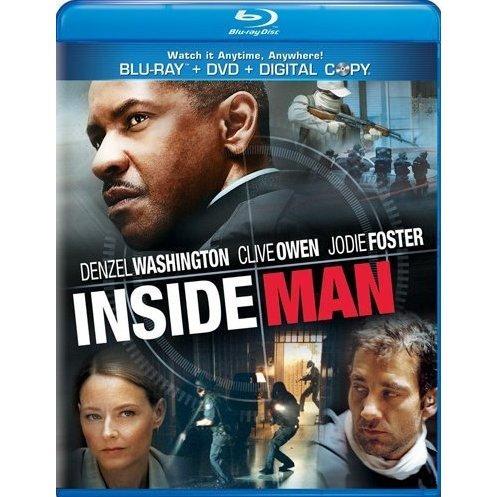 Inside Man [Blu-ray+DVD+Digital Copy]