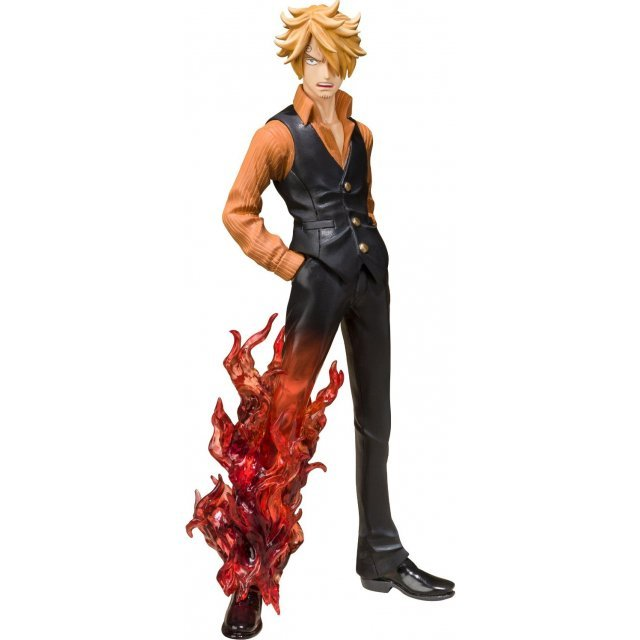 One Piece Figuarts Zero Non Scale Pre-Painted PVC Figure: Sanji Battle Ver