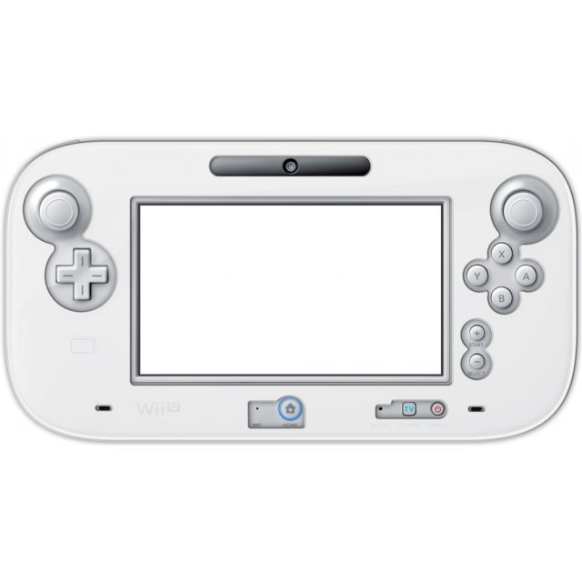 Silicon Cover for Wii U GamePad (Clear White)