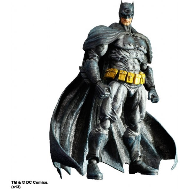 Batman Arkham City Play Arts Kai Non Scale Pre-Painted Figure: Batman Dark Knight Returns Skin