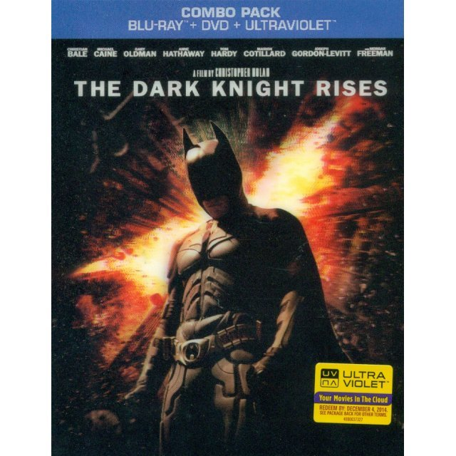 The Dark Knight Rises [Blu-ray+DVD+UltraViolet Digital Copy]